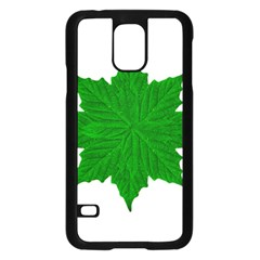 Decorative Ornament Isolated Plants Samsung Galaxy S5 Case (black)