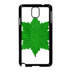 Decorative Ornament Isolated Plants Samsung Galaxy Note 3 Neo Hardshell Case (Black)