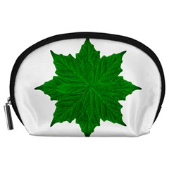Decorative Ornament Isolated Plants Accessory Pouch (Large)