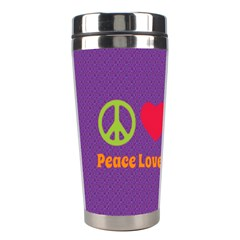 Peace Love & Zeppelin Stainless Steel Travel Tumbler