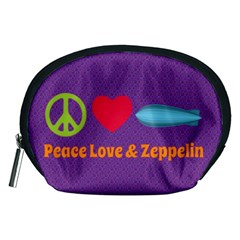 Peace Love & Zeppelin Accessory Pouch (Medium)