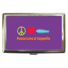 Peace Love & Zeppelin Cigarette Money Case
