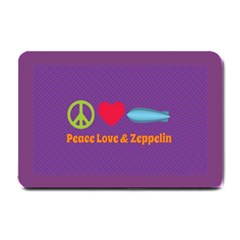 Peace Love & Zeppelin Small Door Mat