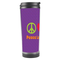 Peace Love & Zeppelin Travel Tumbler