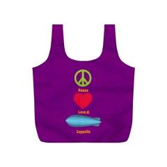 Peace Love & Zeppelin Reusable Bag (S)
