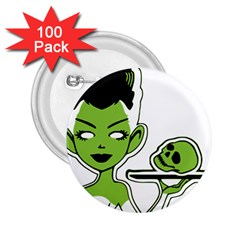 Frankie s Pin Up 2.25  Button (100 pack)