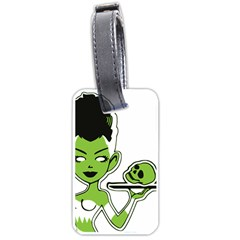 Frankie s Pin Up Luggage Tag (One Side)