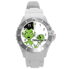 Frankie s Pin Up Plastic Sport Watch (Large)