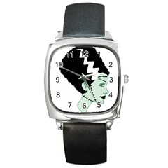 Frankie s Girl Square Leather Watch