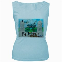 Kings, Past Lives, Women s Tank Top (baby Blue)