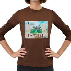 Kings, Past Lives, Women s Long Sleeve T Shirt (dark Colored)