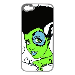 Frankie s Girl Apple iPhone 5 Case (Silver)