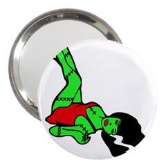 Frankie s Pin Up 3  Handbag Mirror