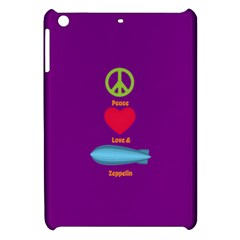 Peace Love & Zeppelin Apple Ipad Mini Hardshell Case