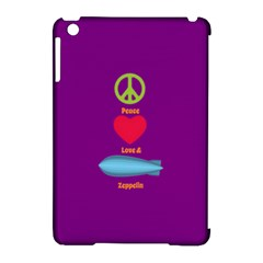 Peace Love & Zeppelin Apple iPad Mini Hardshell Case (Compatible with Smart Cover)