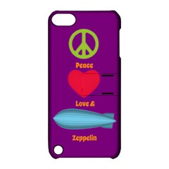 Peace Love & Zeppelin Apple Ipod Touch 5 Hardshell Case With Stand