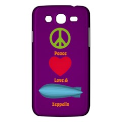 Peace Love & Zeppelin Samsung Galaxy Mega 5 8 I9152 Hardshell Case