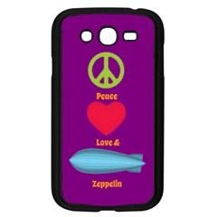 Peace Love & Zeppelin Samsung Galaxy Grand Duos I9082 Case (black)
