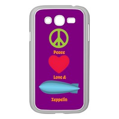 Peace Love & Zeppelin Samsung Galaxy Grand Duos I9082 Case (white)