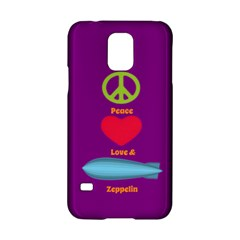 Peace Love & Zeppelin Samsung Galaxy S5 Hardshell Case