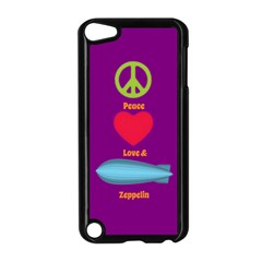 Peace Love & Zeppelin Apple iPod Touch 5 Case (Black)