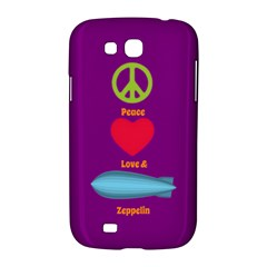 Peace Love & Zeppelin Samsung Galaxy Grand GT-I9128 Hardshell Case