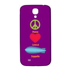 Peace Love & Zeppelin Samsung Galaxy S4 I9500/i9505  Hardshell Back Case