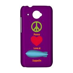 Peace Love & Zeppelin HTC Desire 601 Hardshell Case