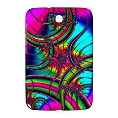 Abstract Neon Fractal Rainbows Samsung Galaxy Note 8 0 N5100 Hardshell Case