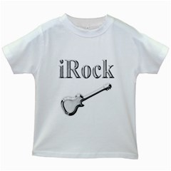 Irock Kids T Shirt (white)