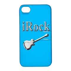 Irock Apple Iphone 4/4s Hardshell Case With Stand