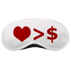 Love Is More Than Money Sleeping Mask