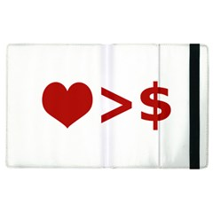 Love Is More Than Money Apple Ipad 3/4 Flip Case