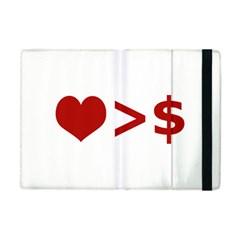 Love Is More Than Money Apple Ipad Mini Flip Case