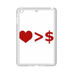 Love Is More Than Money Apple Ipad Mini 2 Case (white)