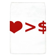 Love Is More Than Money Removable Flap Cover (small)