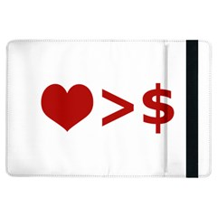 Love Is More Than Money Apple iPad Air Flip Case