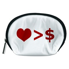 Love Is More Than Money Accessory Pouch (medium)