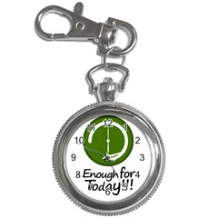 Work Schedule Concept Illustration Key Chain Watch
