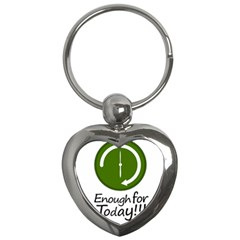 Work Schedule Concept Illustration Key Chain (heart)