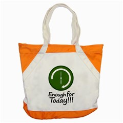 Work Schedule Concept Illustration Accent Tote Bag