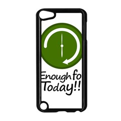 Work Schedule Concept Illustration Apple iPod Touch 5 Case (Black)