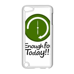 Work Schedule Concept Illustration Apple iPod Touch 5 Case (White)