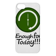 Work Schedule Concept Illustration Apple Iphone 5s Hardshell Case