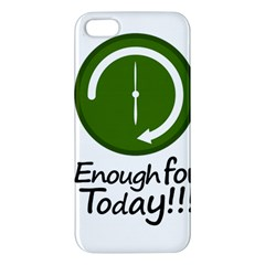 Work Schedule Concept Illustration Iphone 5s Premium Hardshell Case