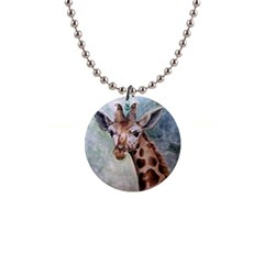 Giraffe Button Necklace