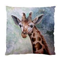 Giraffe Cushion Case (single Sided)