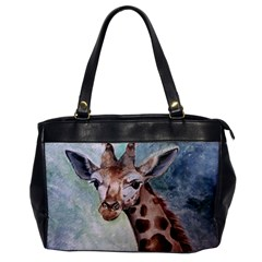Giraffe Oversize Office Handbag (one Side)