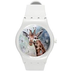 Giraffe Plastic Sport Watch (Medium)