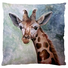 Giraffe Large Cushion Case (two Sided)